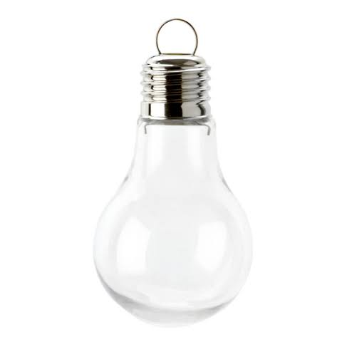 Darice Shatterproof Ornament-Light Bulb, 97mm 3815400