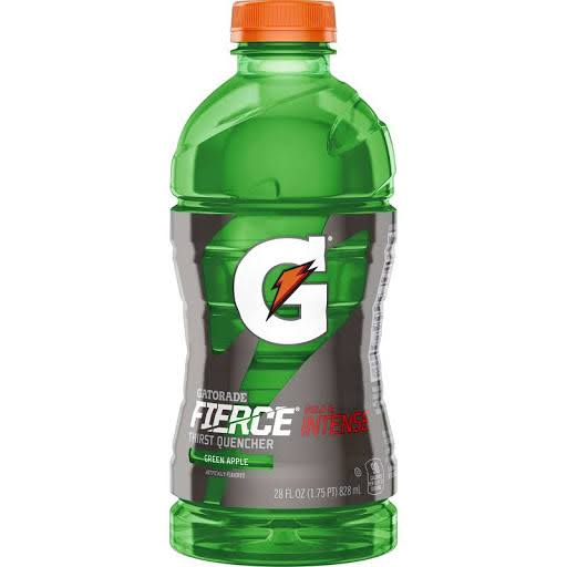 Gatorade Fierce Thirst Quencher Sports Drink - Green Apple