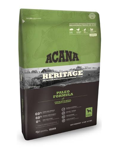 ACANA - Heritage Paleo Formula Dog Food - 12 oz