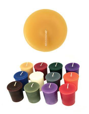 Pure Beeswax Candles Honey Candles - Each