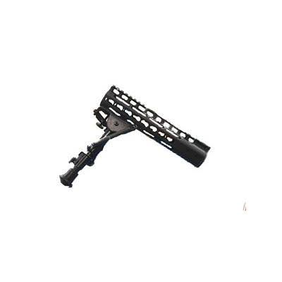 Impact Weapons Components Keymod Mount N Slot Bipod - Black