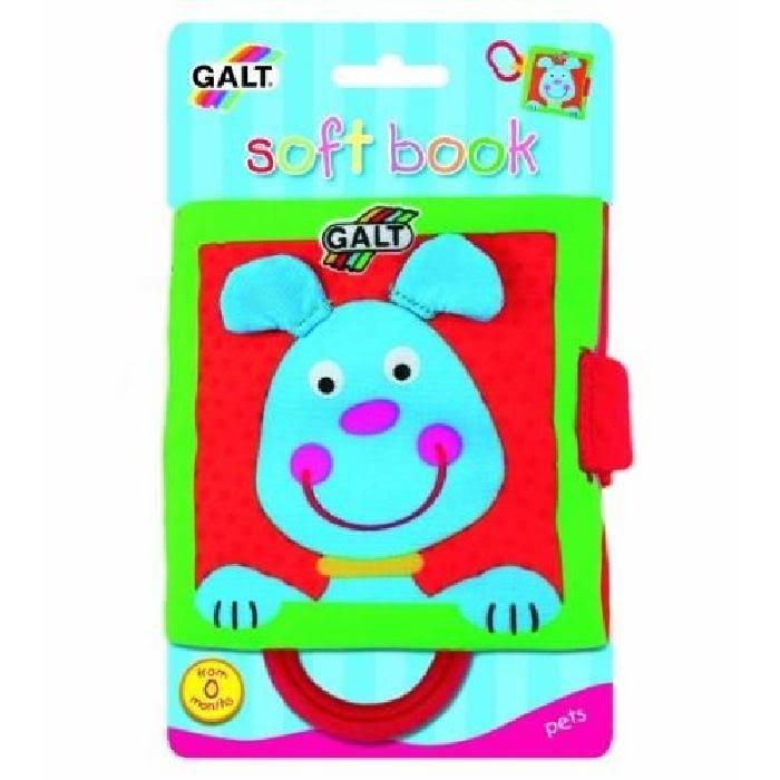 Galt First Year Soft Book - Pets