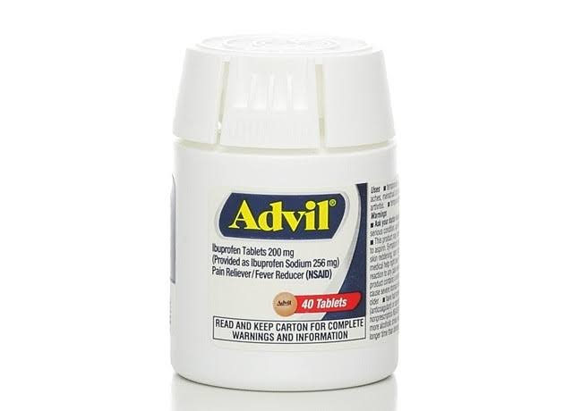 Advil Ibuprofen Tablets - 40 Tablet, 200mg