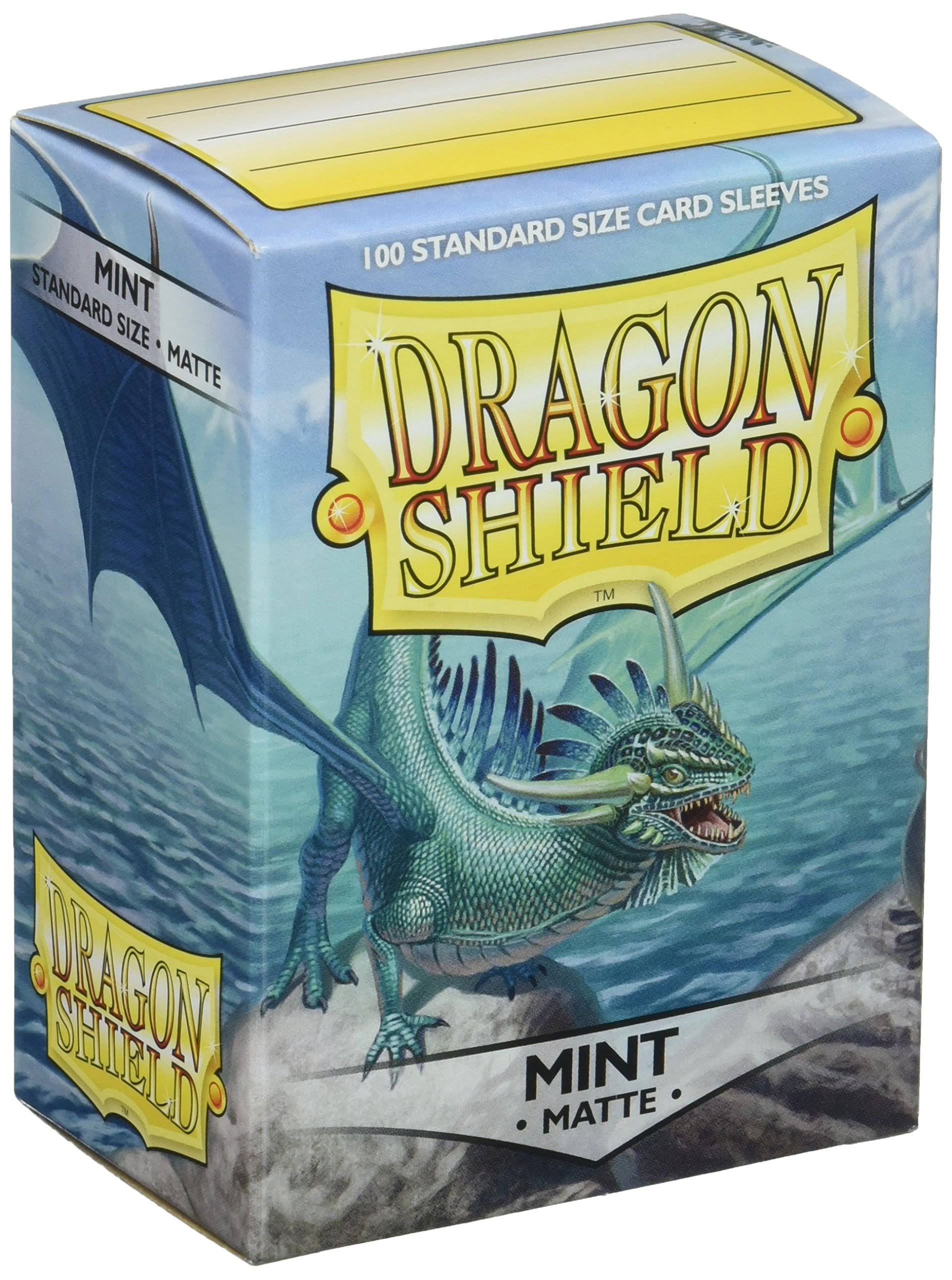 Dragon Shield Card Sleeves - 100 Standard Size Card Sleeves, Mint Matte