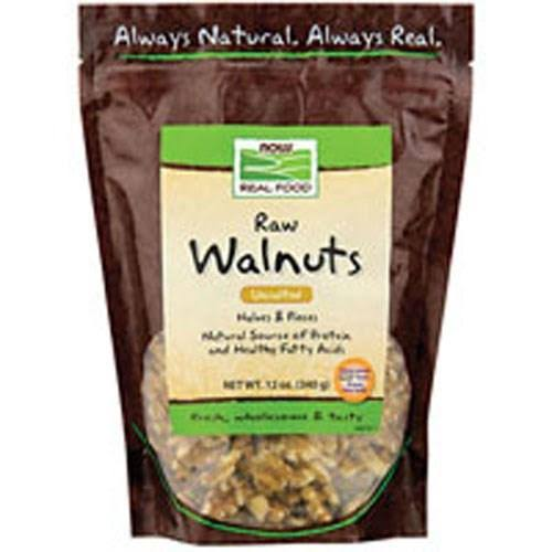 Now Foods Walnuts Halves & pieces - 12 oz