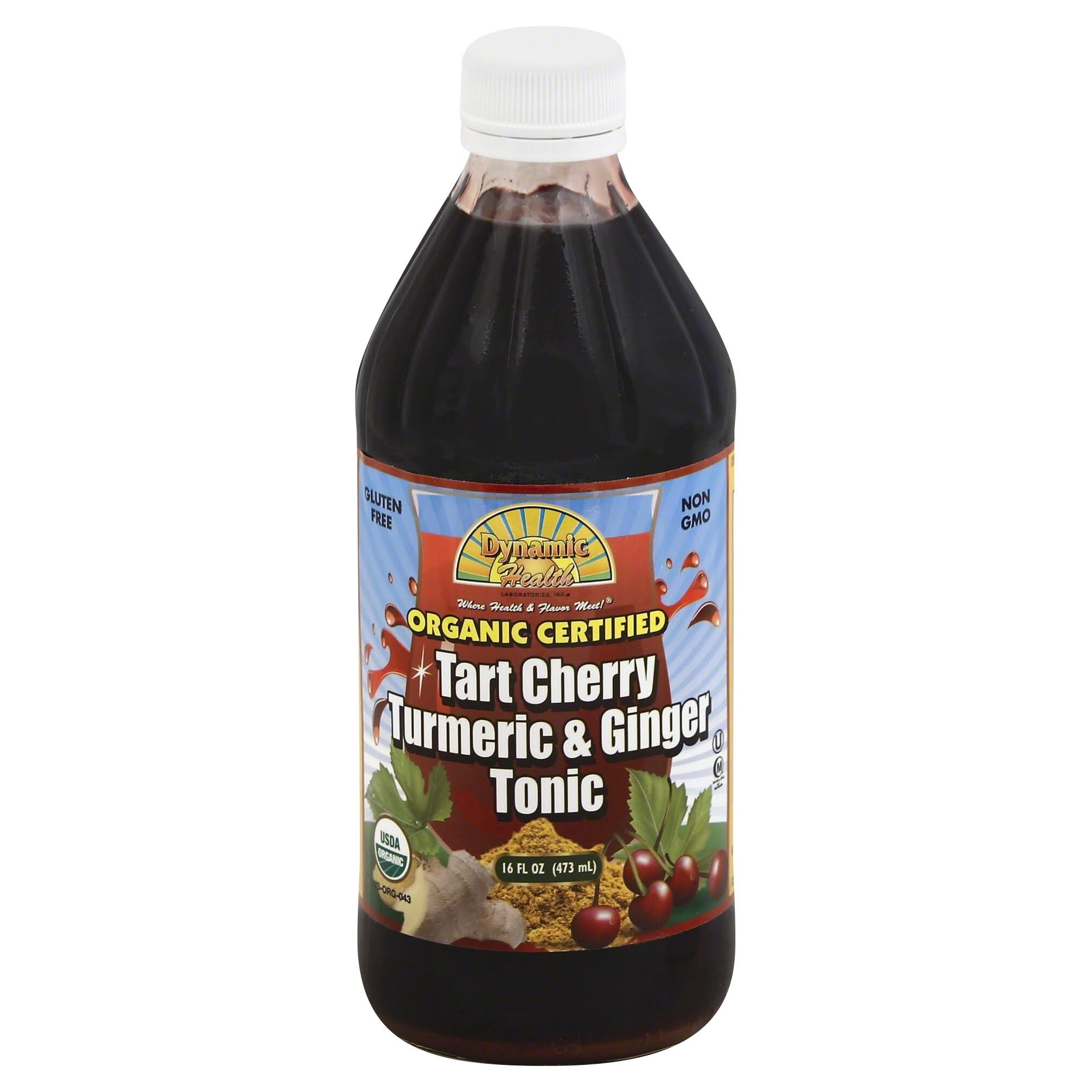 Dynamic Health Tonic - Tart Cherry Turmeric And Ginger