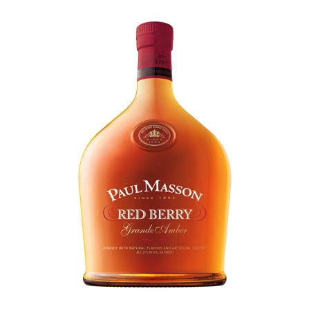 Paul Masson Grande Amber Brandy - Red Berry, 750ml