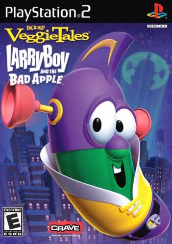 Veggie Tales Larry Boy and the Bad Apple - PlayStation 2