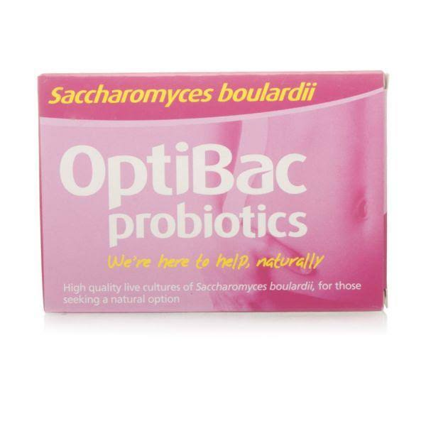 OptiBac Probiotics Saccharomyces Boulardii - 16pk