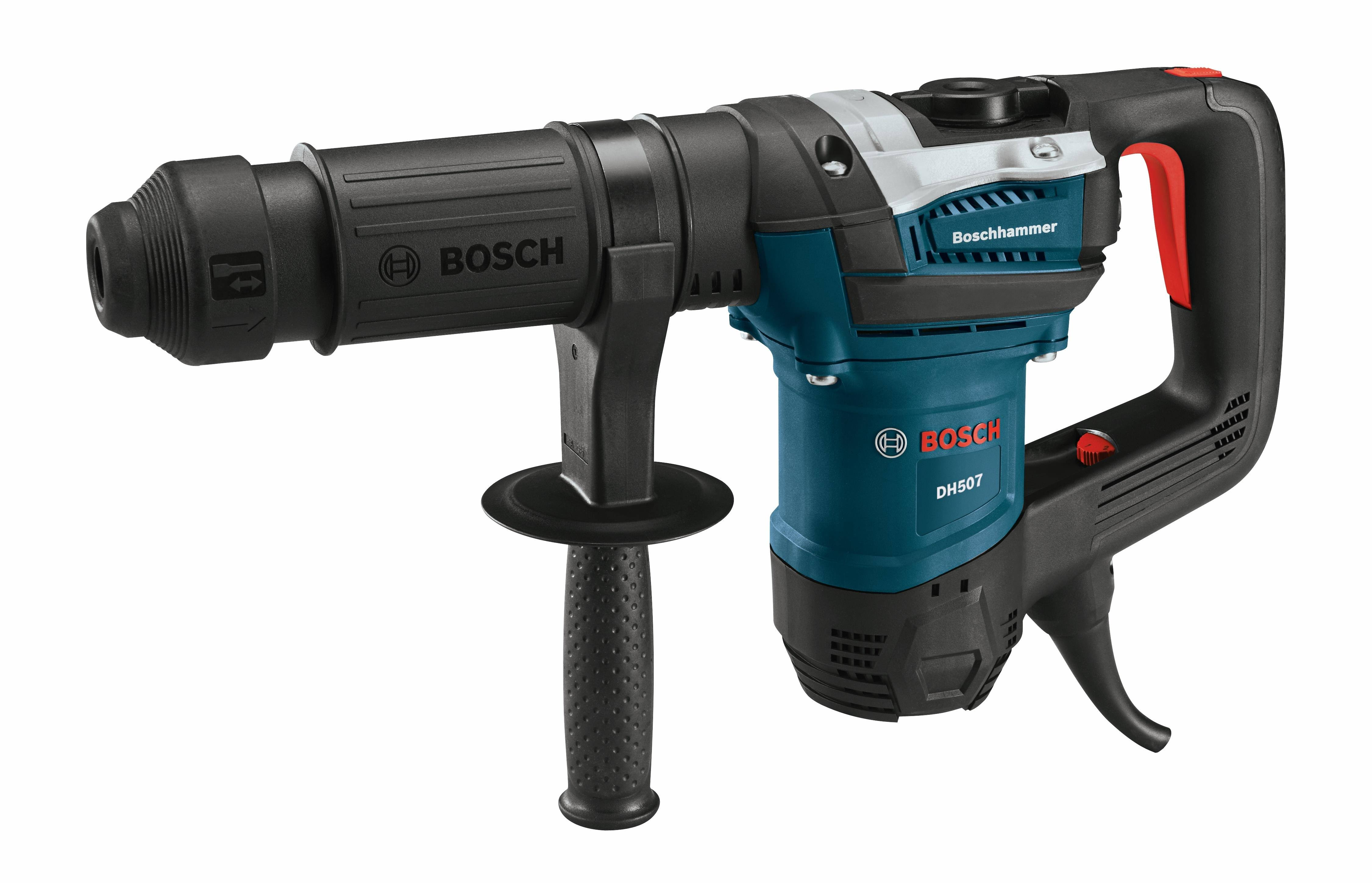 Bosch DH507 Variable Speed SDS-Max Demolition Hammer - 12 Pound, 10A