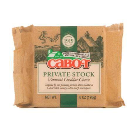 Cabot Private Stock Vermont Cheddar Cheese - 6oz