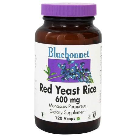 BlueBonnet Red Yeast Rice Supplement - 120 Count