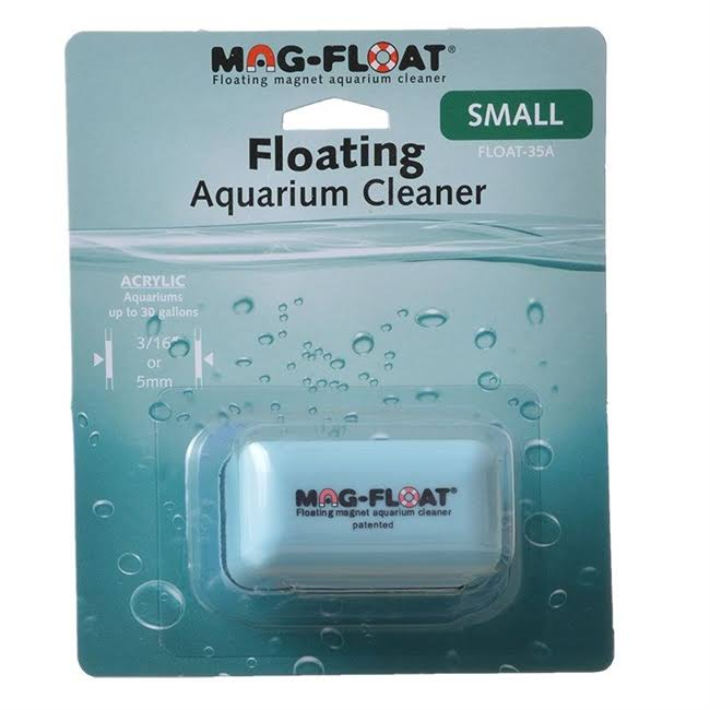 Gulfstream Tropical Mag-Float Acrylic Aquarium Cleaner - Small