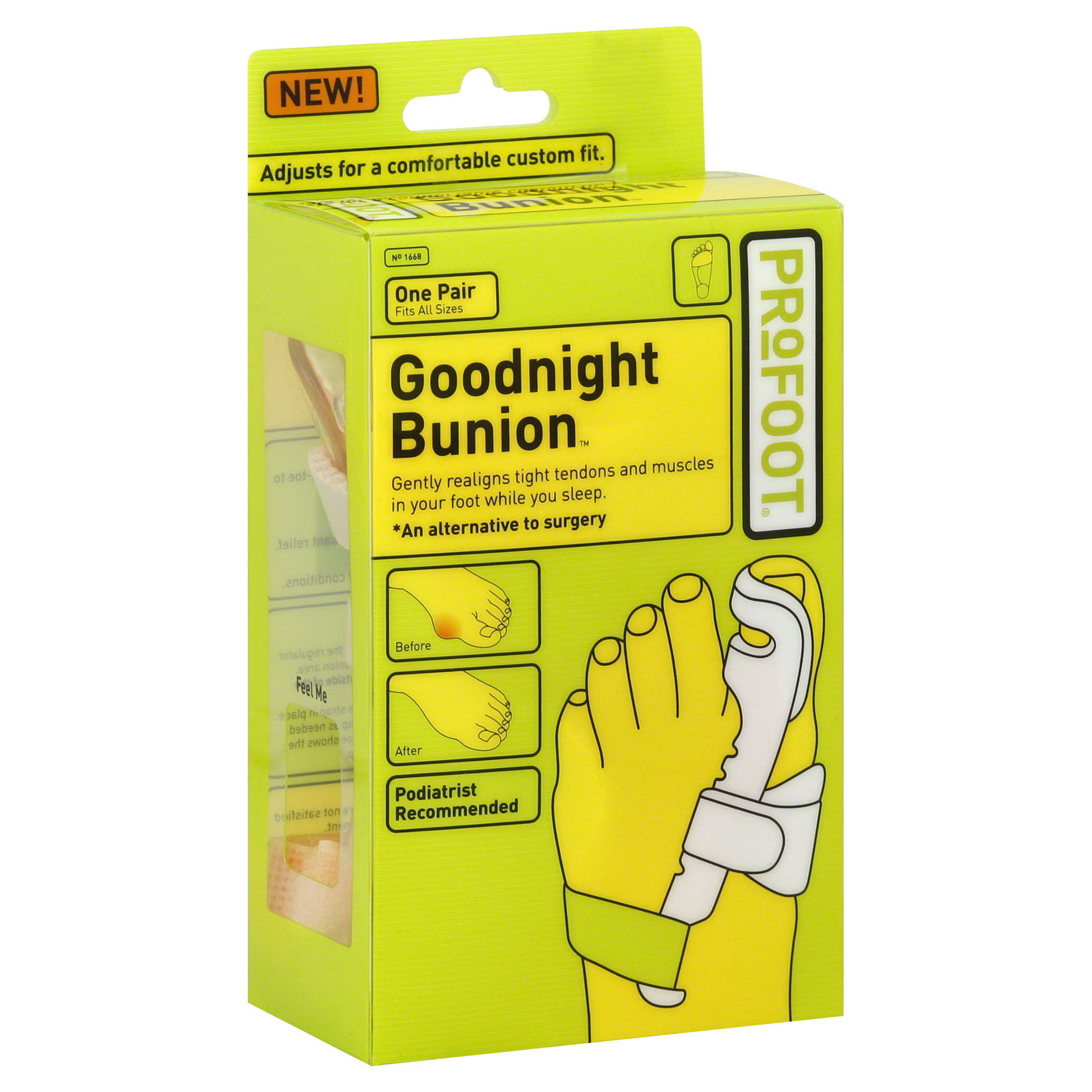 Profoot Care Goodnight Bunion - One Pair
