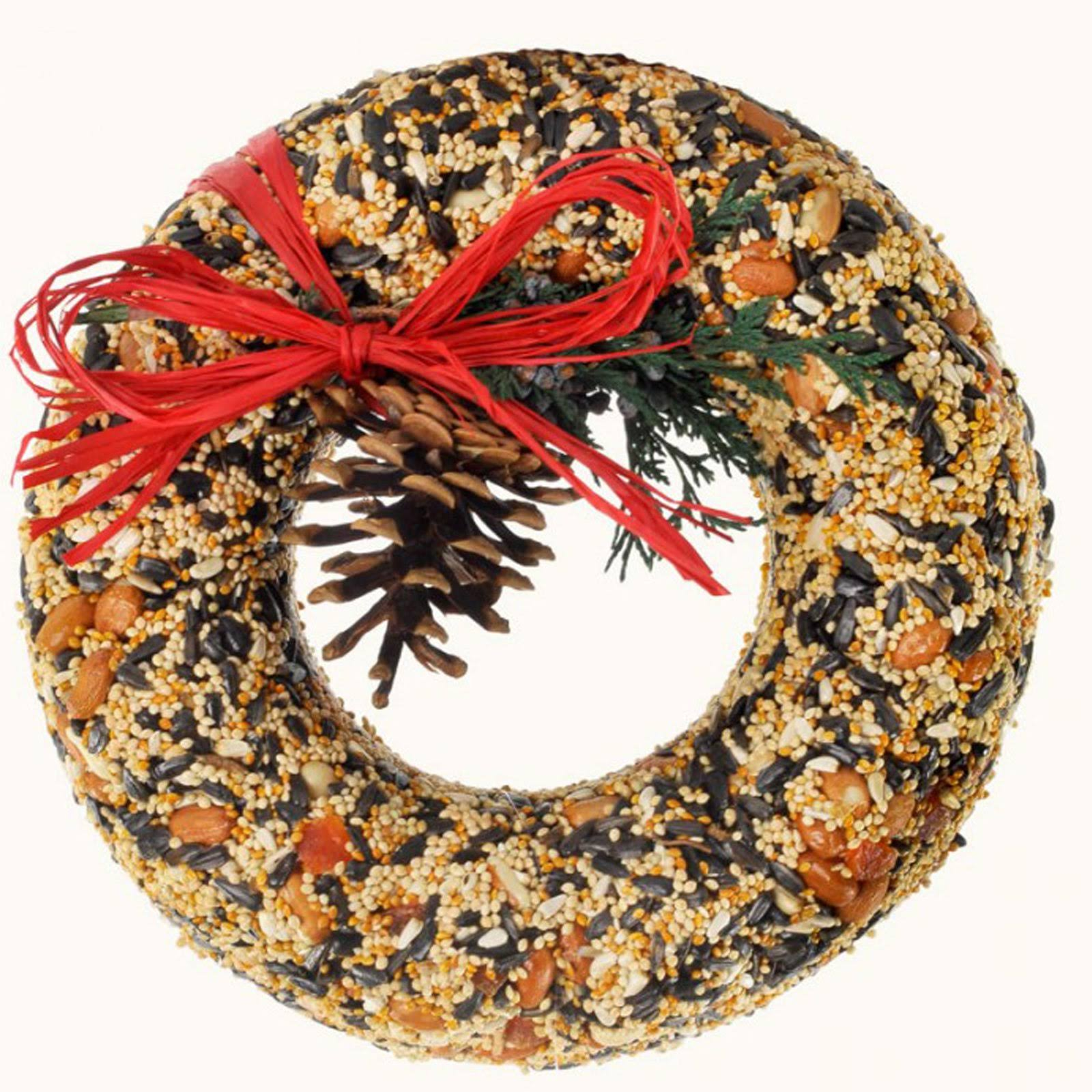 Mr. Bird Birdseed Wreath
