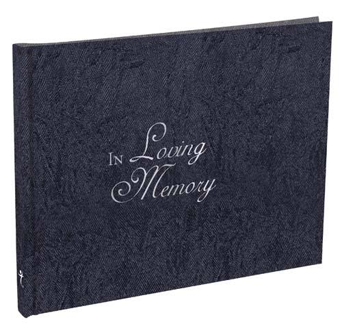 "In Loving Memory Guest Book - 7.25"" x 5.5"""
