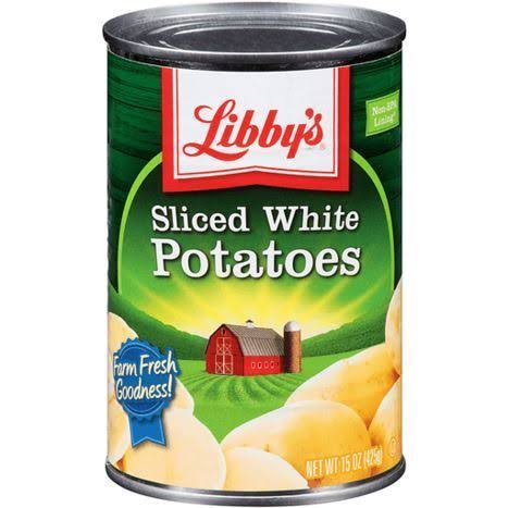 Libby's Sliced White Potatoes - 15oz