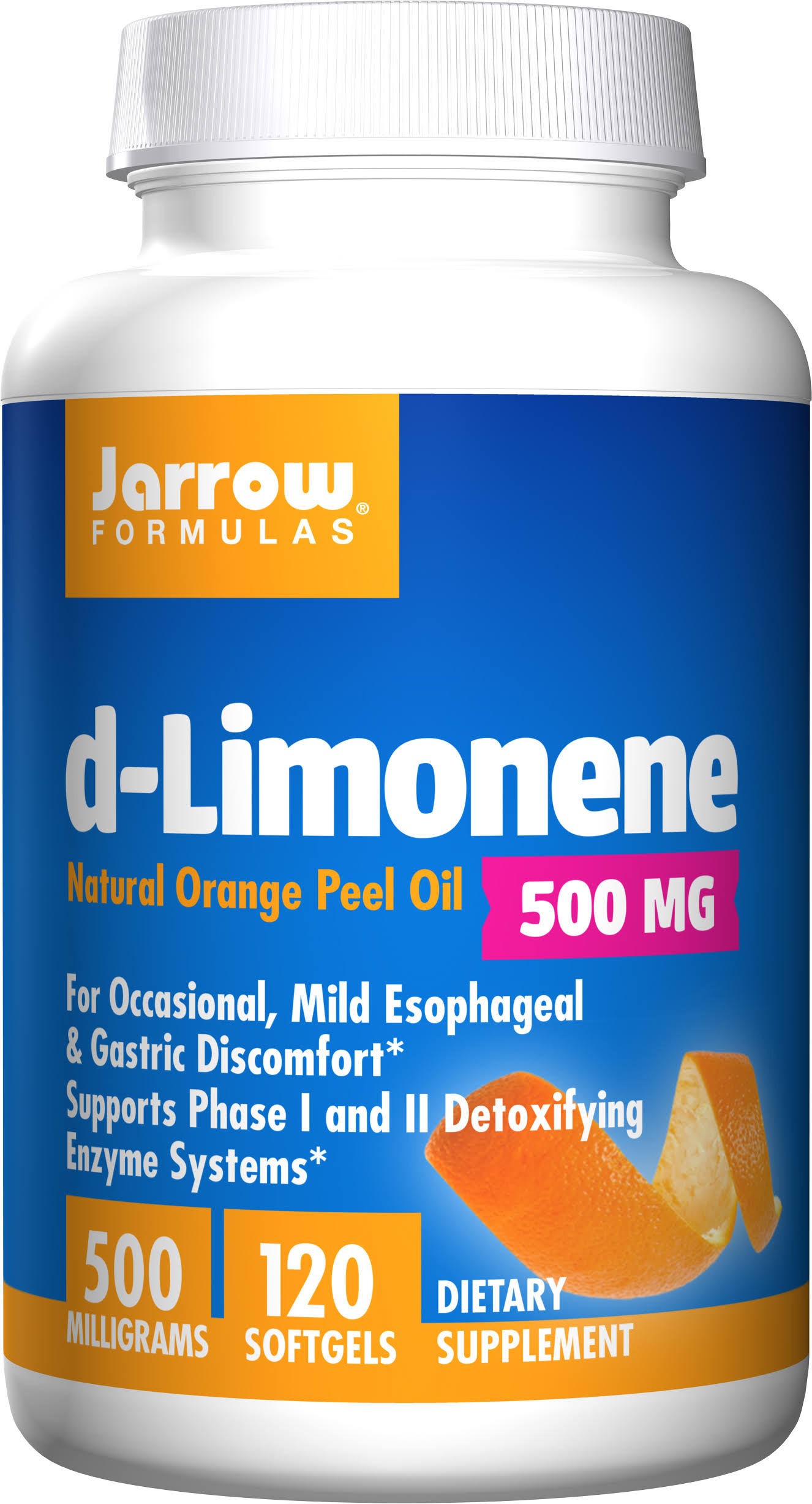 Jarrow Formulas D-limonene Dietary Supplement - 60 Softgels