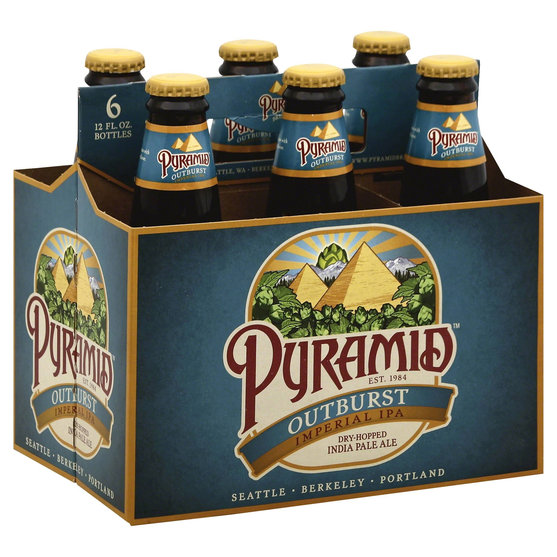 Pyramid Ale India Pale - Outburst, 12oz, x6
