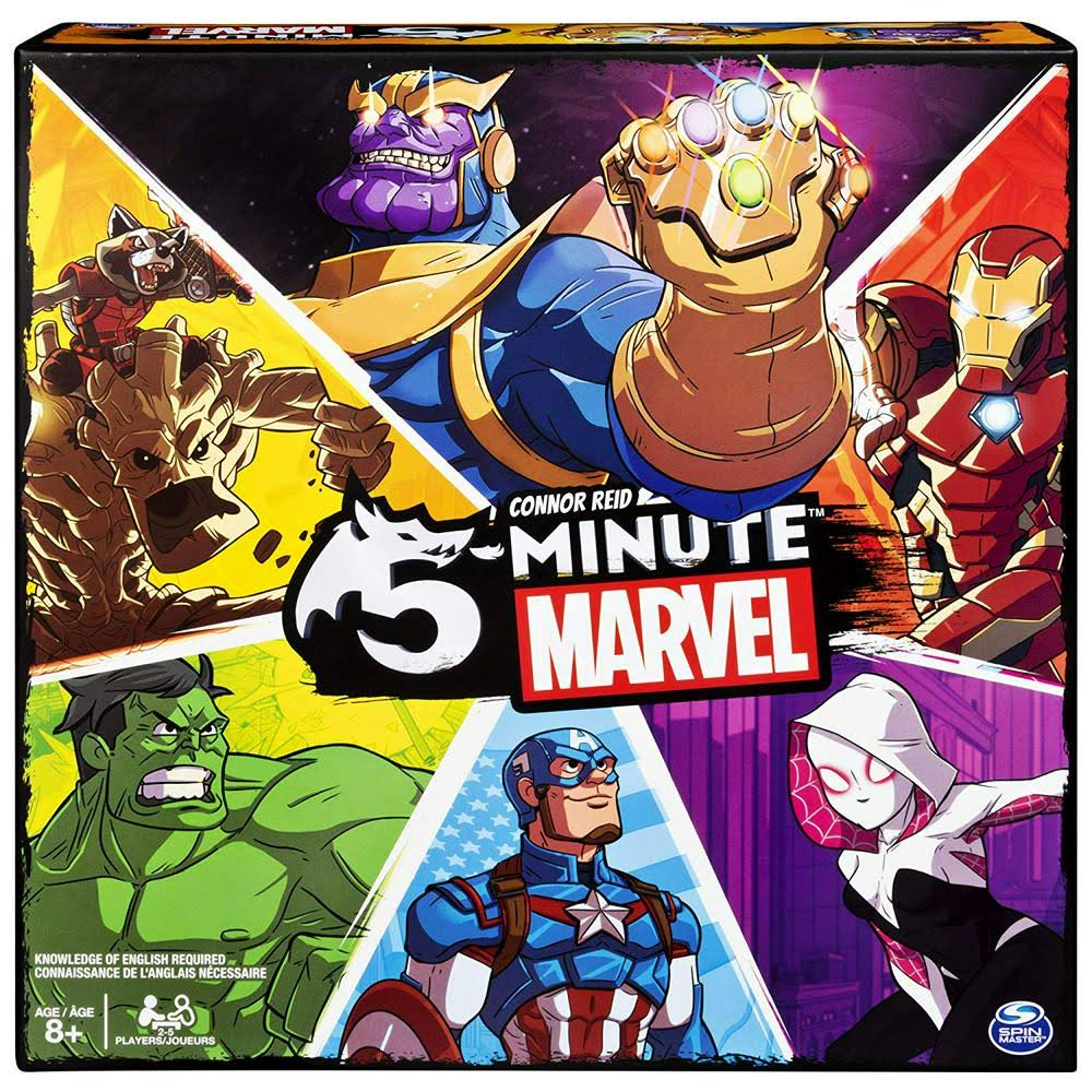 5 Minute Marvel Card Game