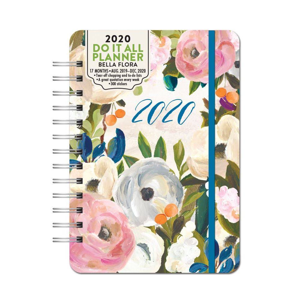 Orange Circle Studio 2020 Do It All Planner, Bella Flora