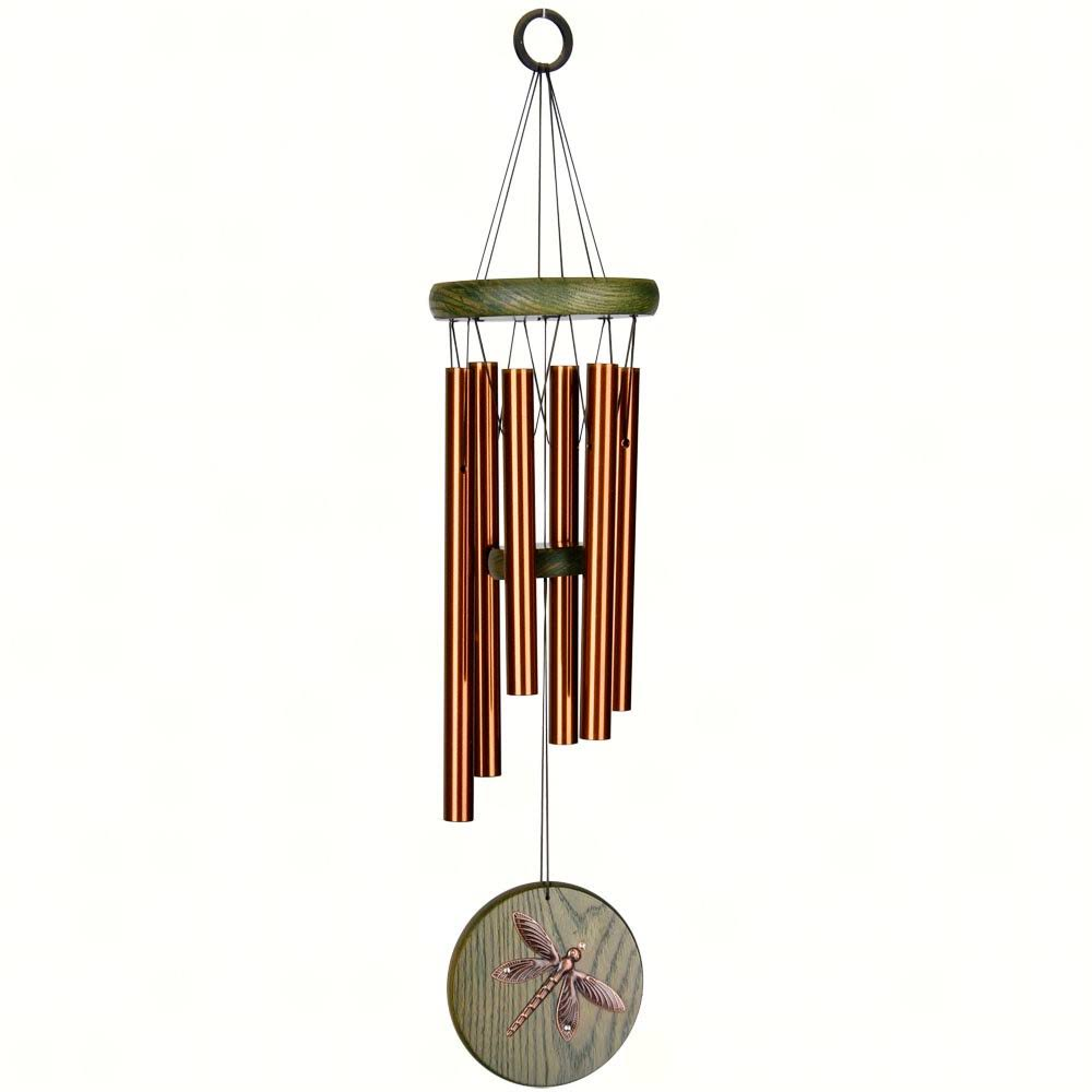 Woodstock Habitats Dragonfly Chimes - Green