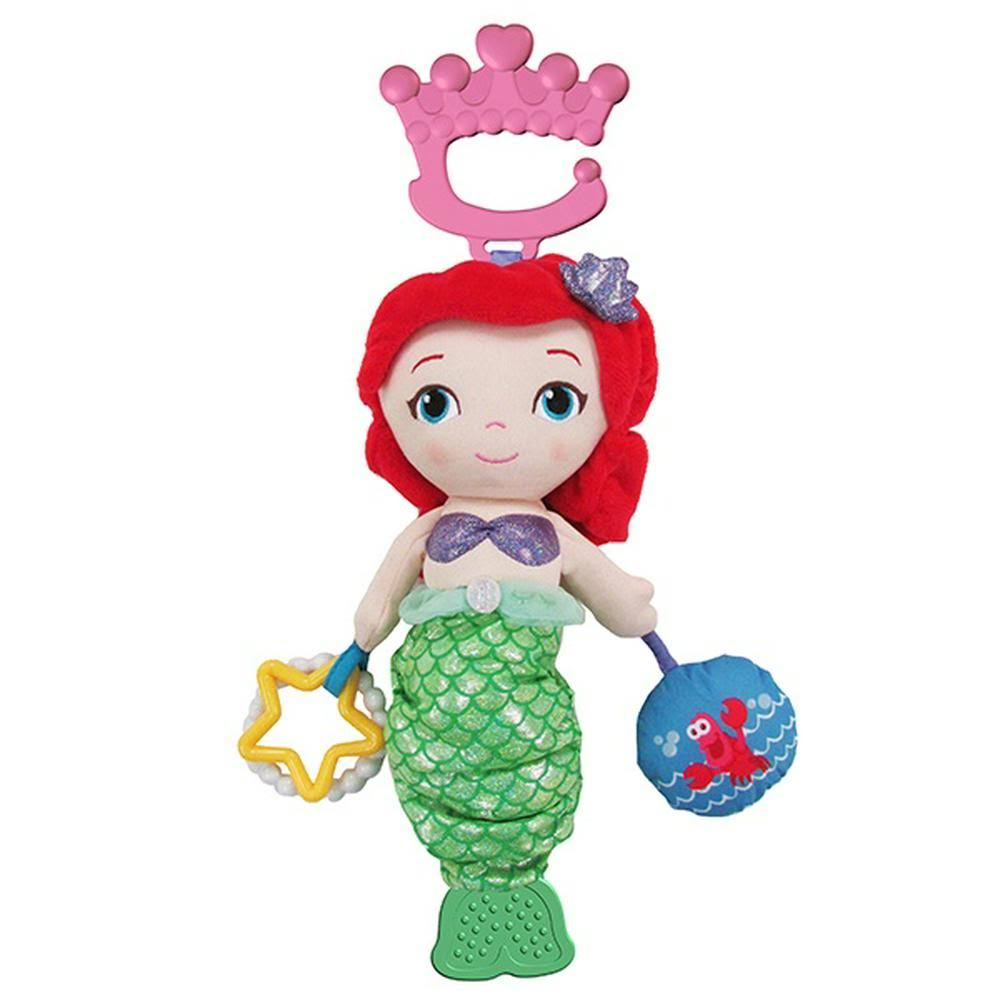 Disney Princess Ariel White Activity Stuffed Toy