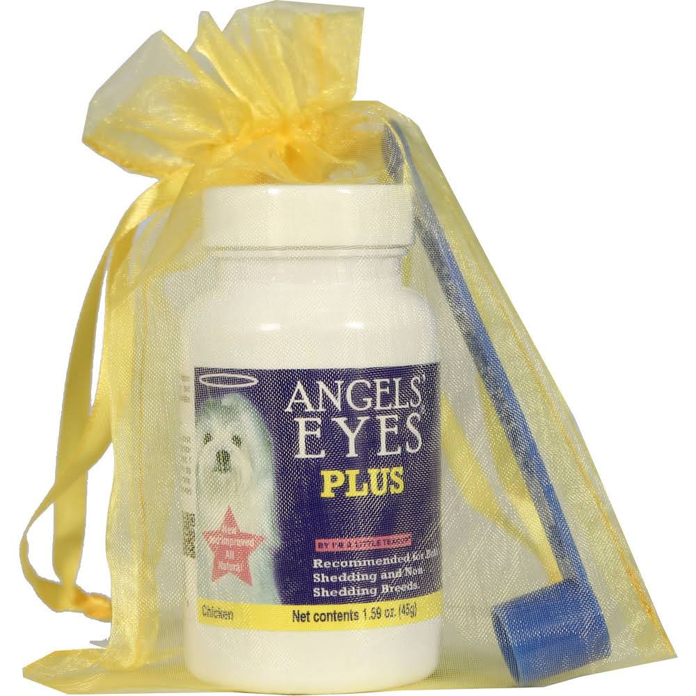 Angels Eyes Angels' Eyes Plus Dog Tear Stain - Chicken Formula, 45g