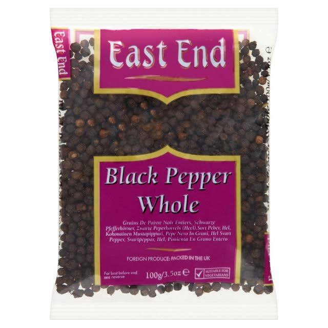 East End Black Pepper - Whole, 100g