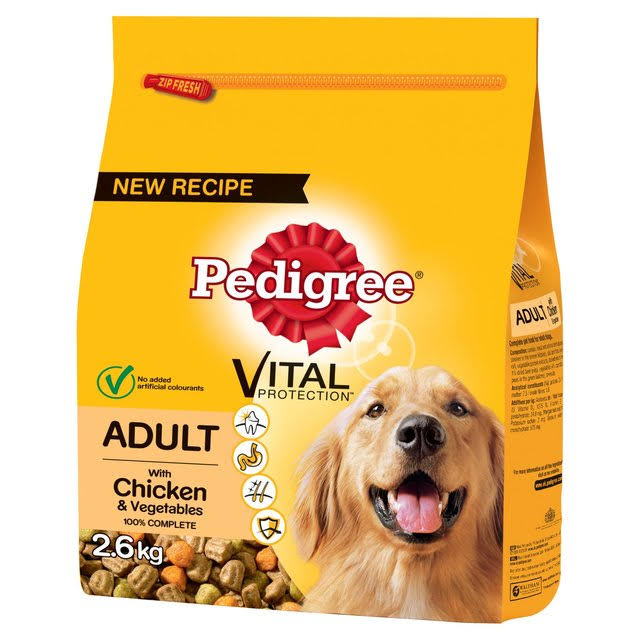Pedigree Dog Food - Chicken and Vegetables