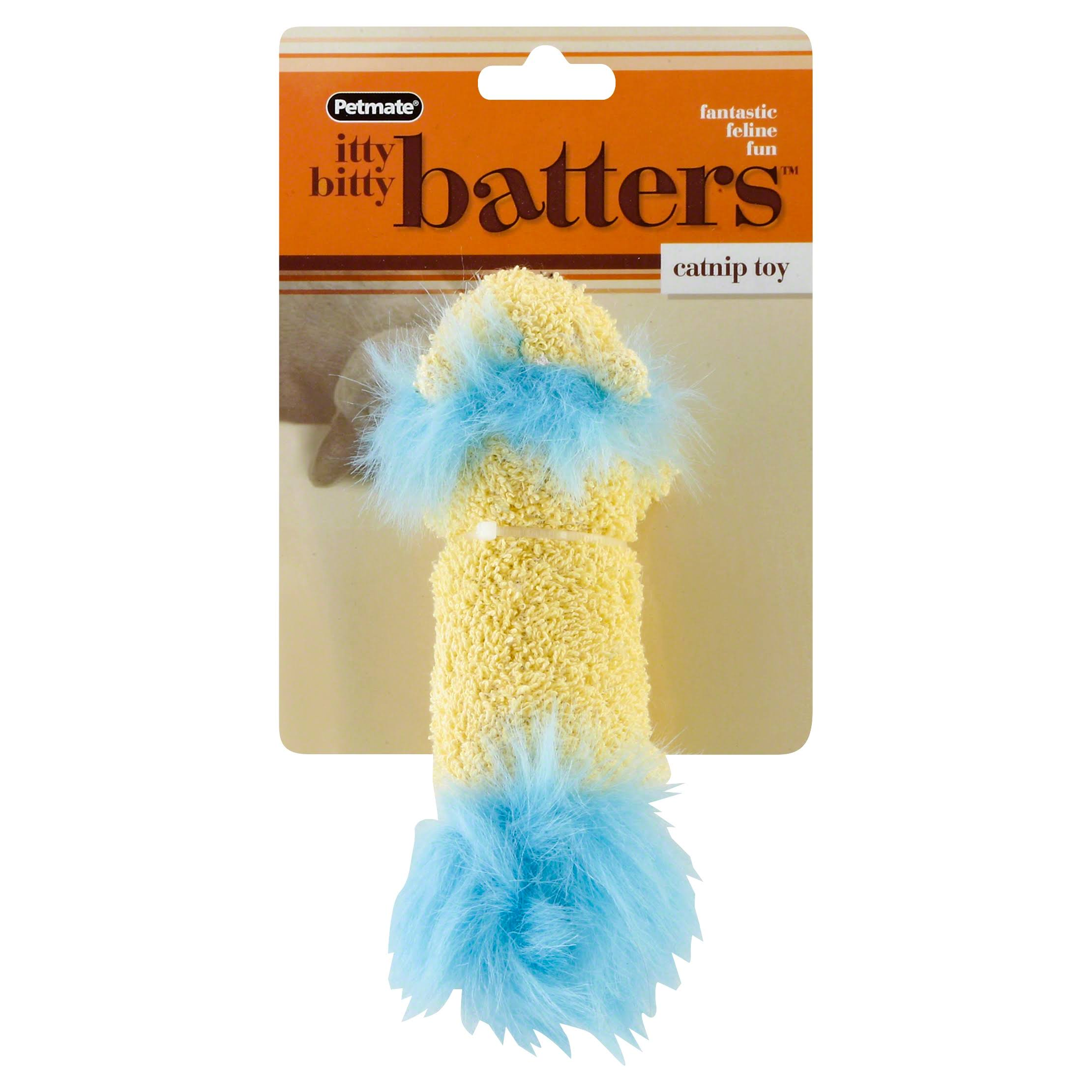Petmate Itty Bitty Batters Lion Cat Toy
