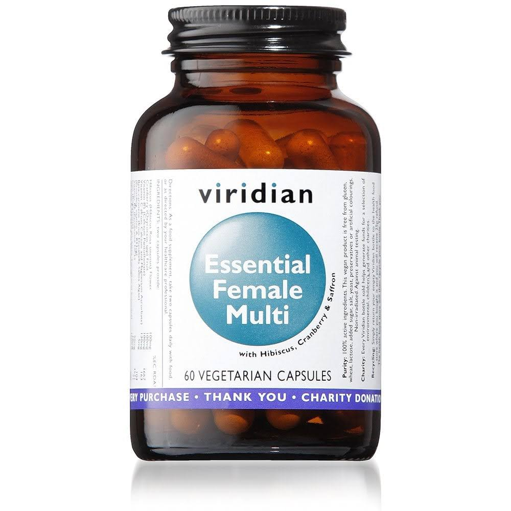 Viridian Essential Female Multi - 60 Capsules