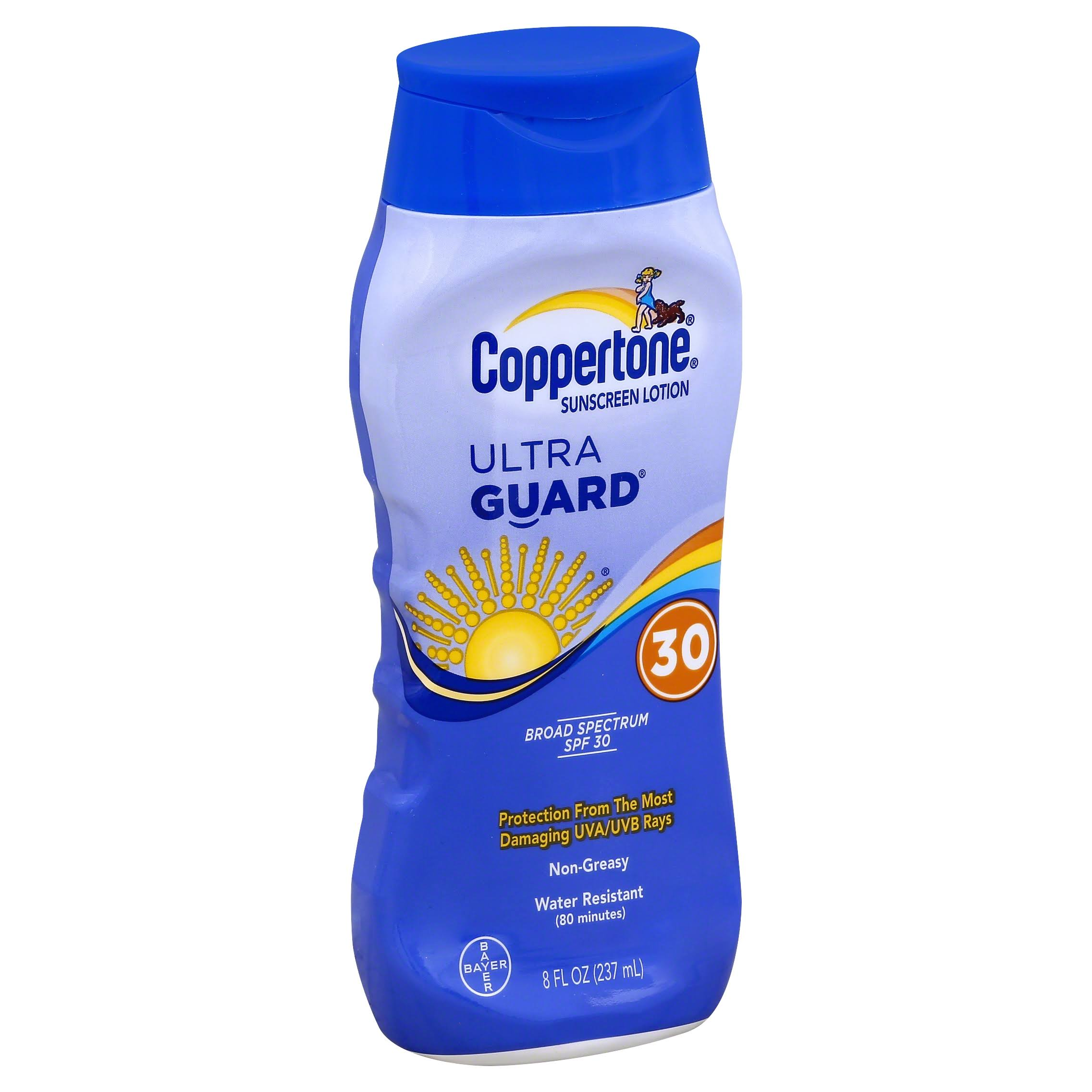 Coppertone Ultra Guard Sunscreen Lotion - SPF 30, 8oz