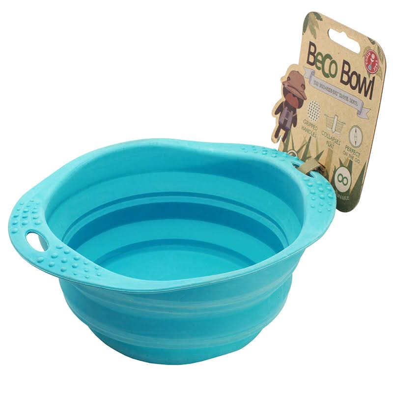 Beco Travel Bowl - Blue, Medium