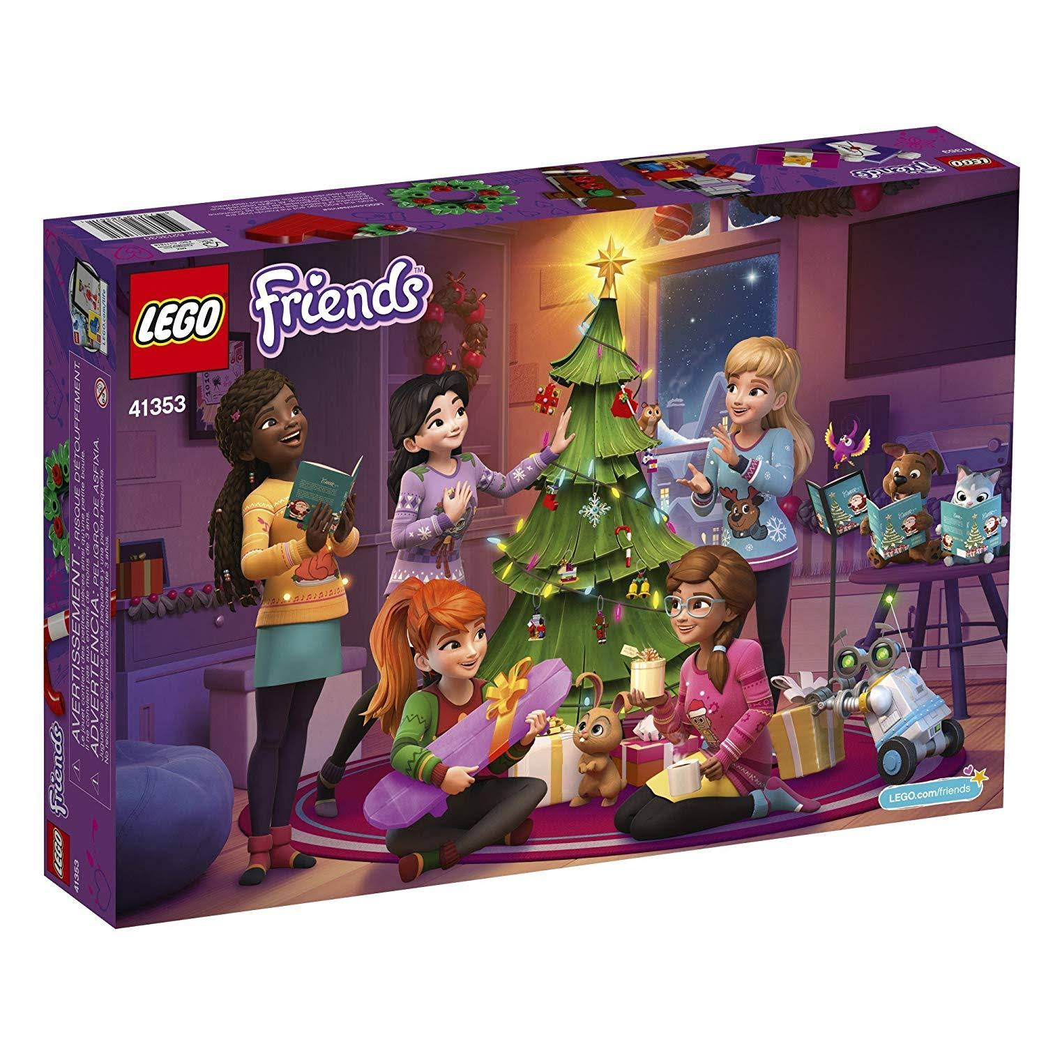 Lego Friends Advent Calendar Building Toy - 500pcs