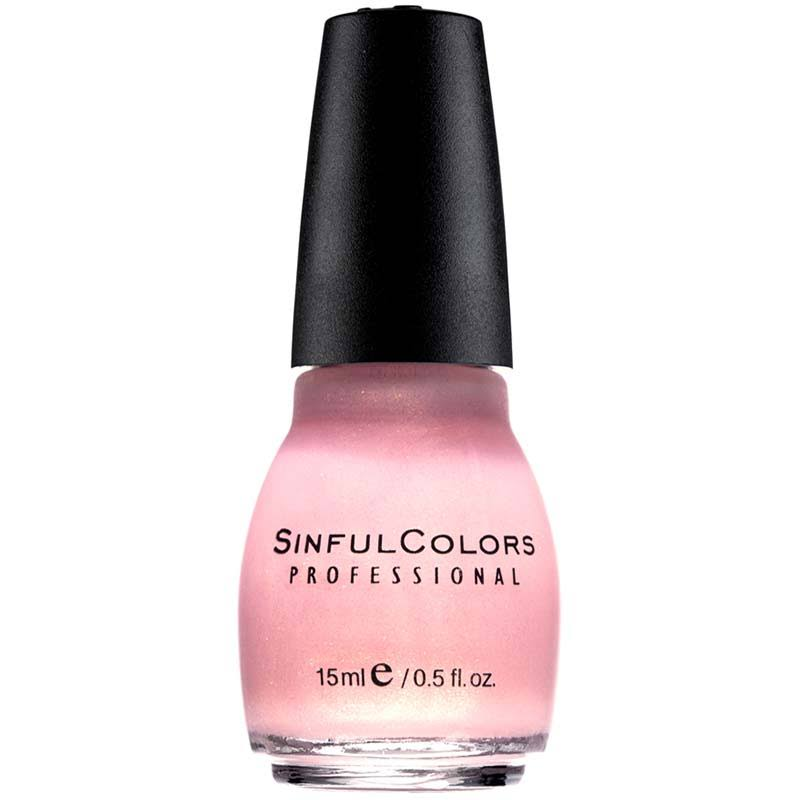Sinful Colors Professional Nail Polish, Glass Pink - 0.5 fl oz bottle