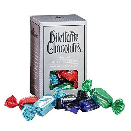 Dilettante Trufflecremes Assorted Chocolates Gift Box - 10oz