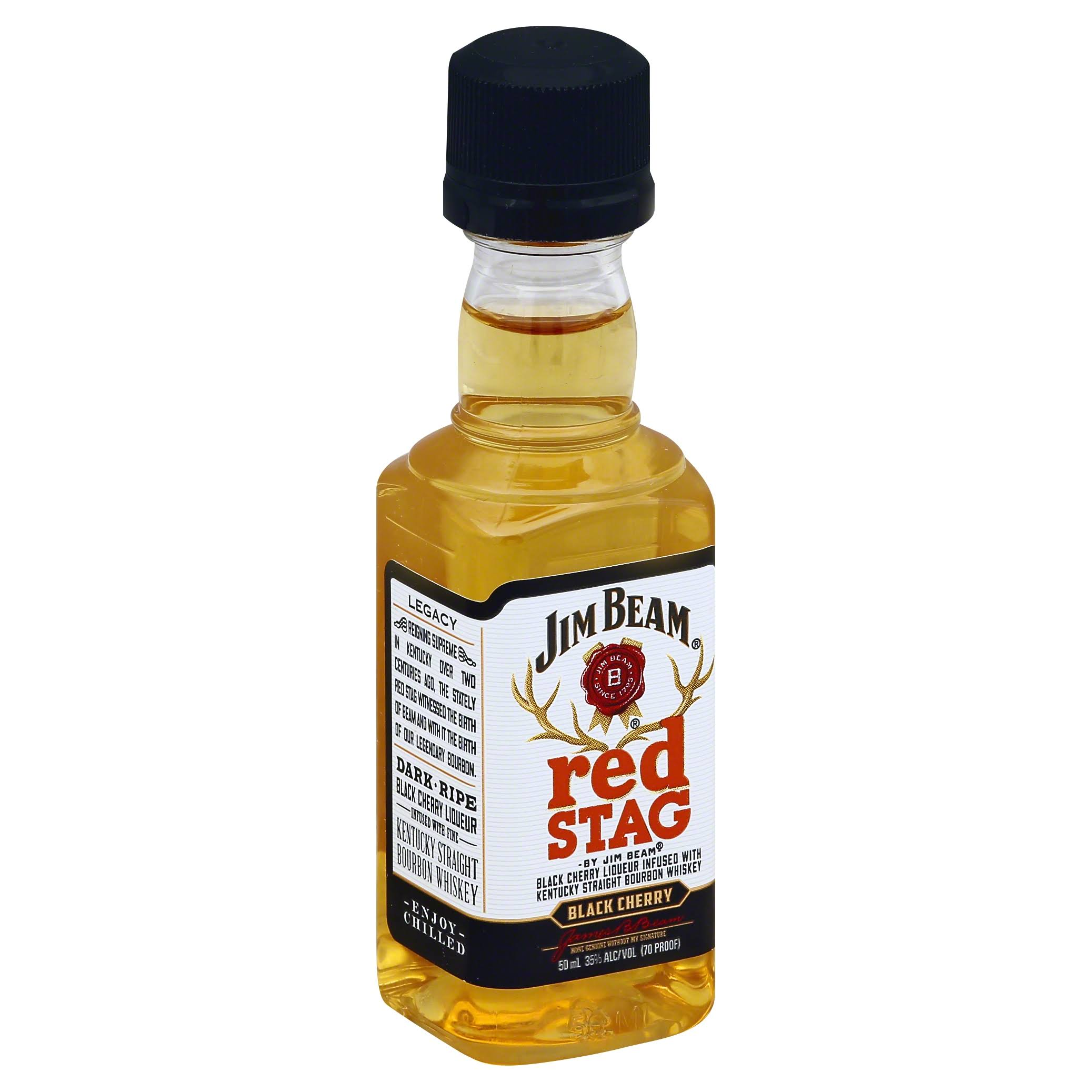 Jim Beam Red Stag Black Cherry Bourbon - 50ml