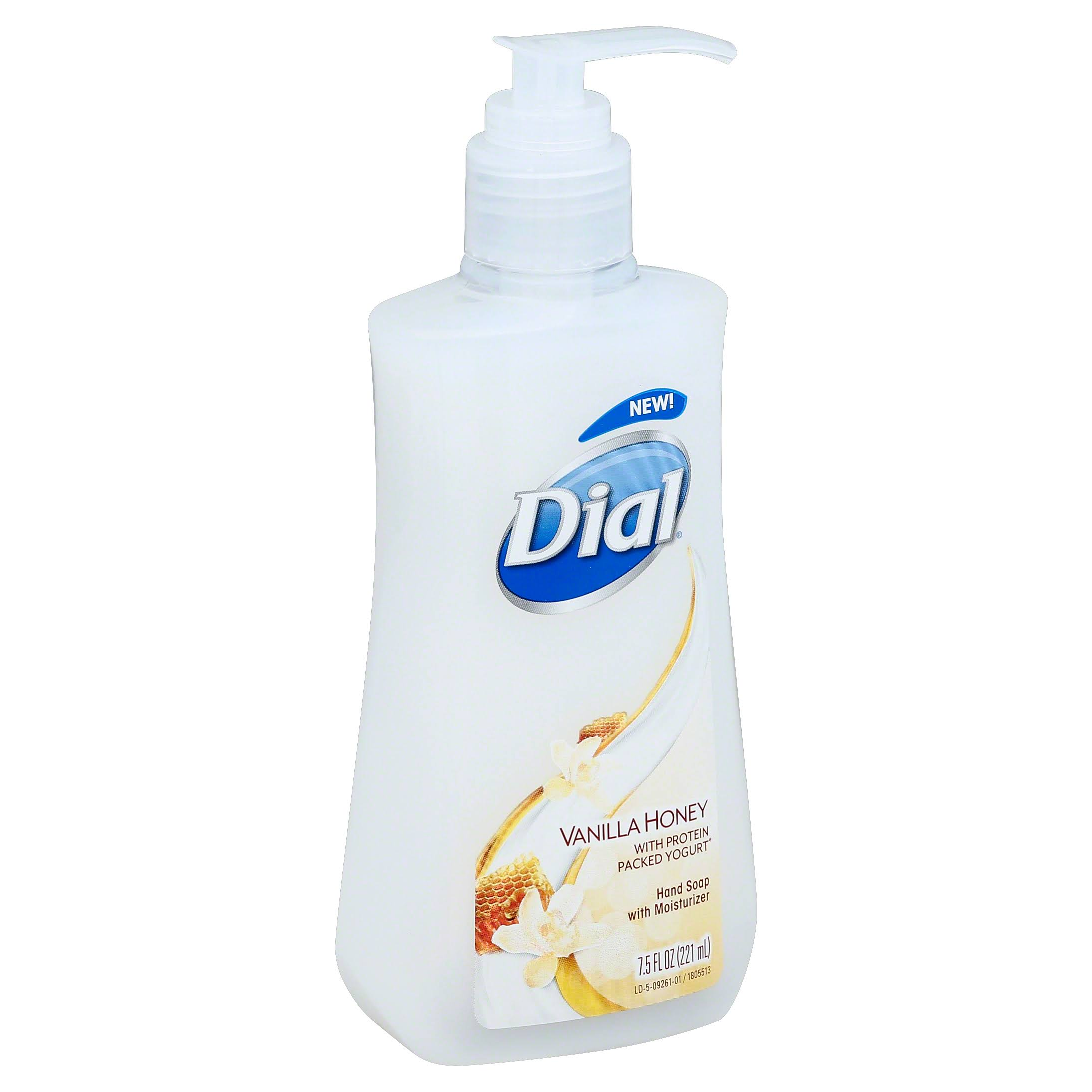 Dial Liquid Hand Soap - Vanilla Honey, 7.5oz
