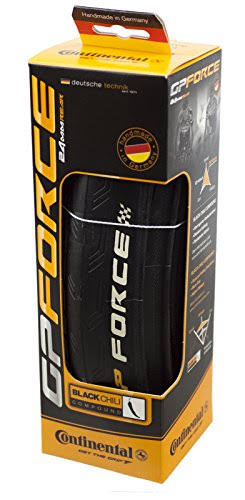 Continental Grand Prix Force TPS Black Rear Bicycle Tire with Black Chili (700x24)
