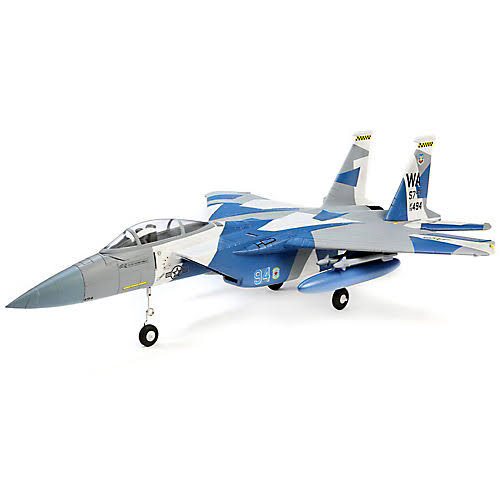 E-flite F-15 Eagle 64mm EDF BNF with AS3X and Safe Select, EFL9750