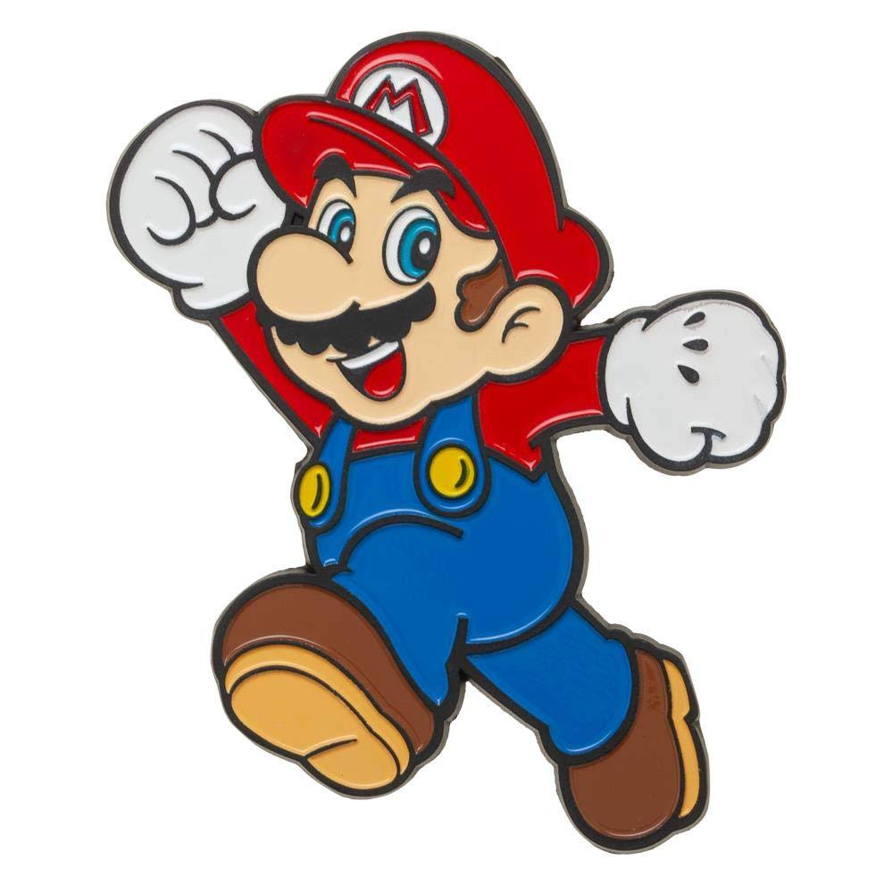 Super Mario Bros Mario 3in Lapel Pin