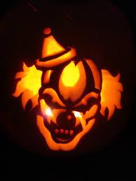 Evil Clown Pumpkin Stencils by Scary Pumpkin Carving Stencil Evil Clown Erika Glover Flickr