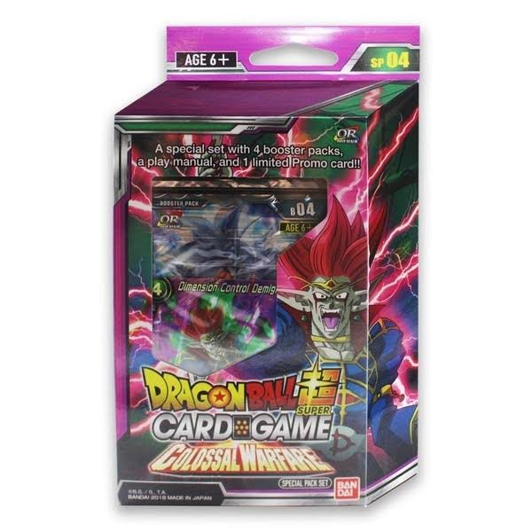 Dragon Ball Super Card Game Special Pack Set