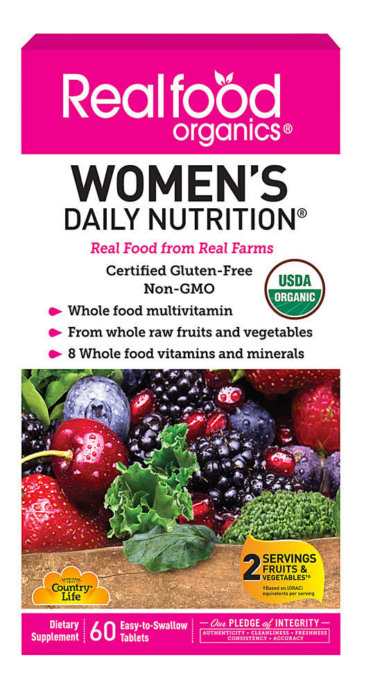 Country Life Realfood Women's Daily Nutrition Supplement - 60 Tablets