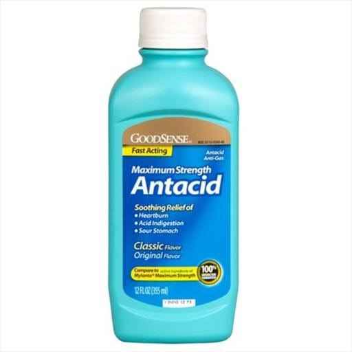GoodSense Maximum Strength Antacid - 12 fl oz