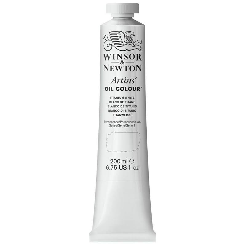 Winsor & Newton Artists' Oil Color Paint - Titanium White
