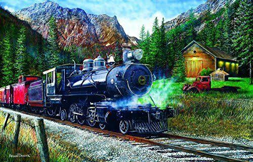 Sunsout The Leinad Express 1000 PC Jigsaw Puzzle