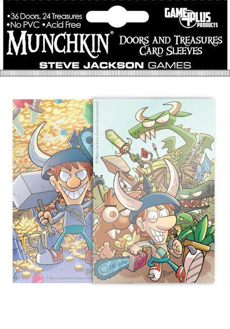 Munchkin Doors and Treasures Card Sleeves - Steve Jackson