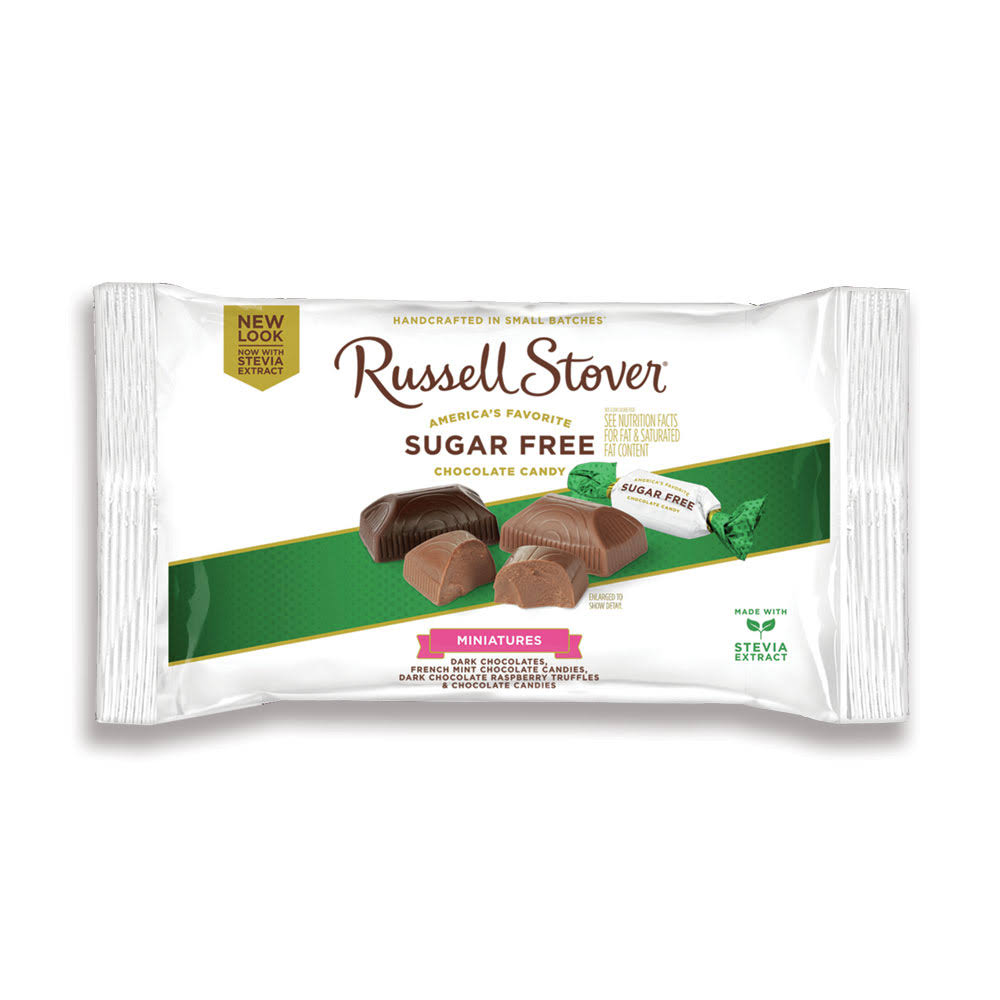Russell Stover Sugar Free Assorted Miniatures 9 oz. Bag